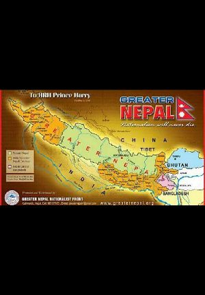 Greater Nepal In Quest Of Boundary