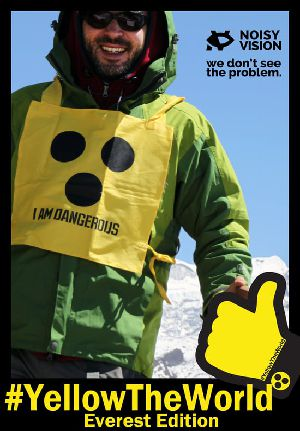#YellowTheWorld - Everest Edition